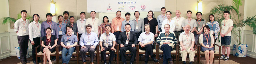 <b>ALICE ITS upgrade and O<sup>2</sup> Asian Workshop 2014</b>